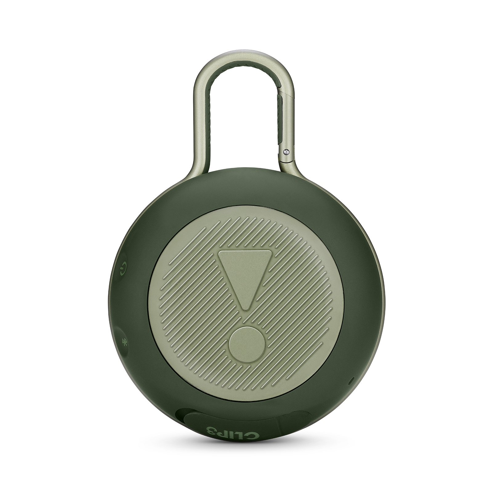 JBL CLIP 3 - Forest Green - Portable Bluetooth® speaker - Back