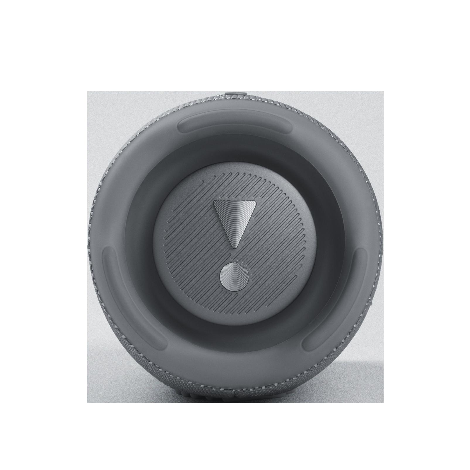JBL CHARGE 5 - Grey - Portable Waterproof Speaker with Powerbank - Left