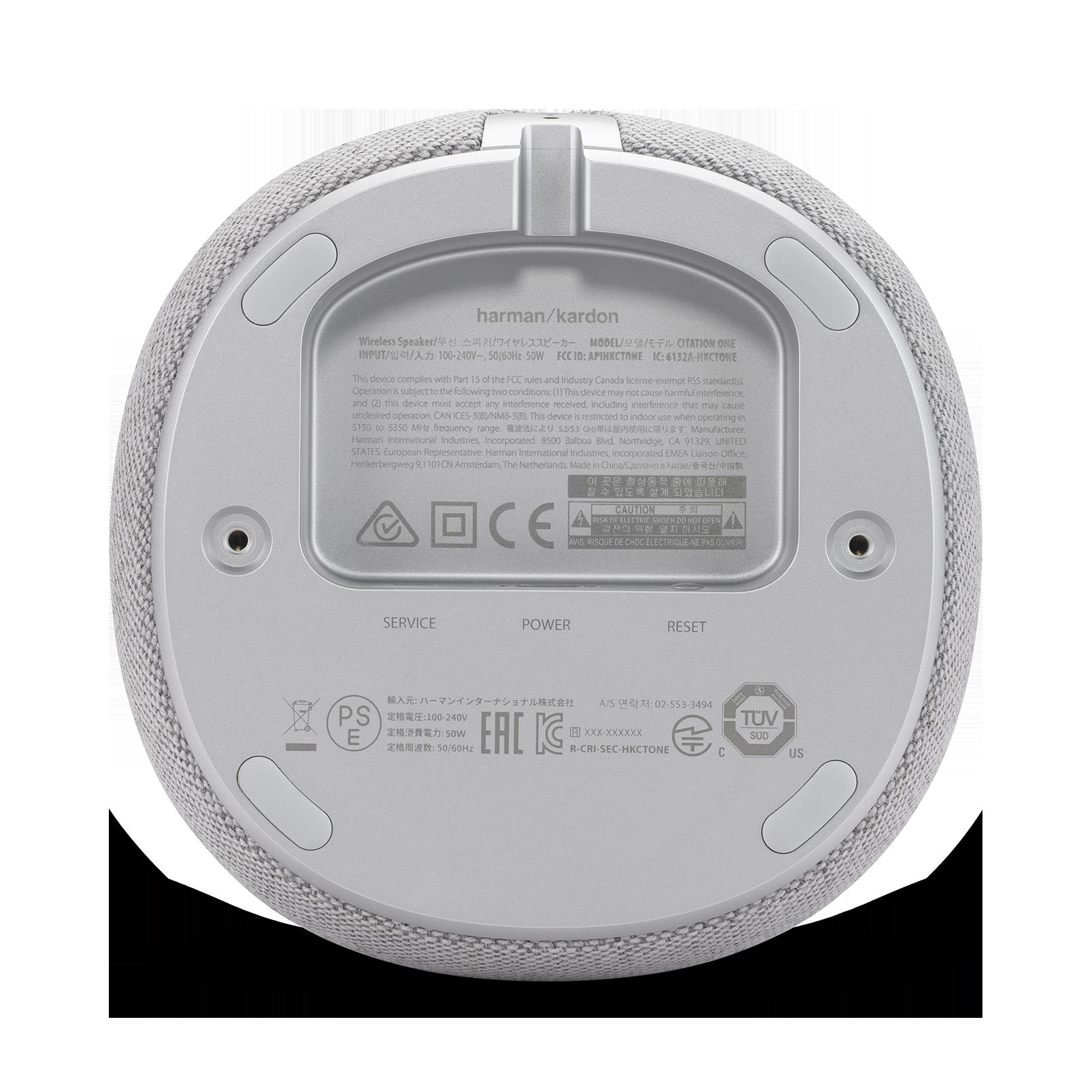 Harman Kardon Citation One MKII - Grey - All-in-one smart speaker with room-filling sound - Detailshot 2