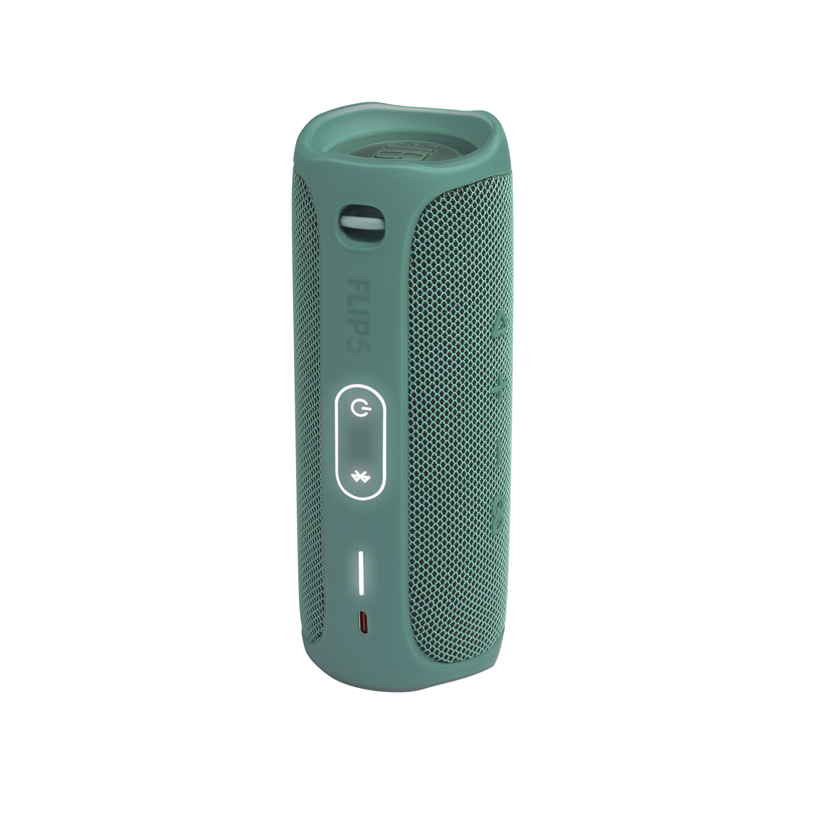JBL Flip 5 Eco edition - Forest Green - Portable Speaker - Eco edition - Back