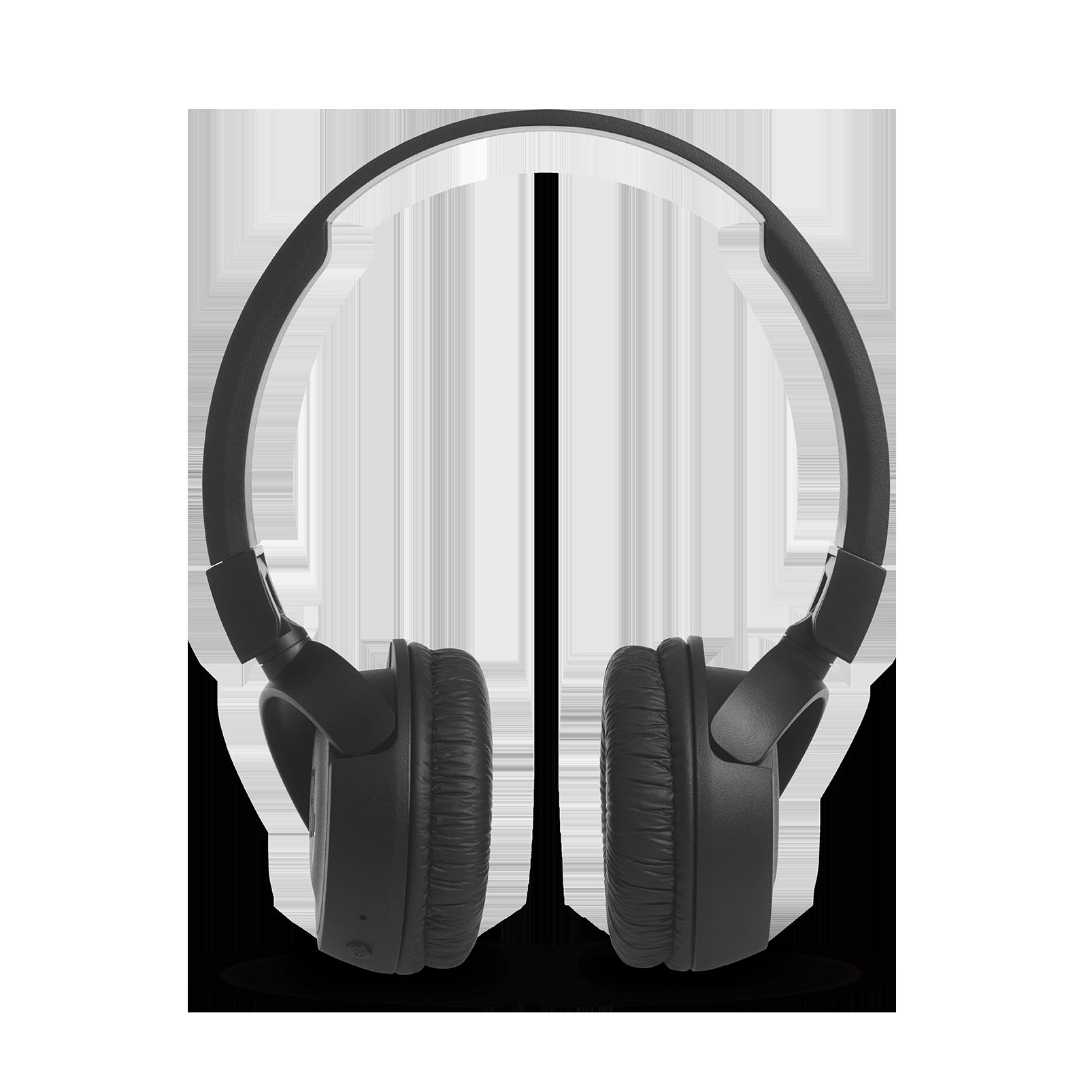 JBL T460BT - Black - Wireless on-ear headphones - Front