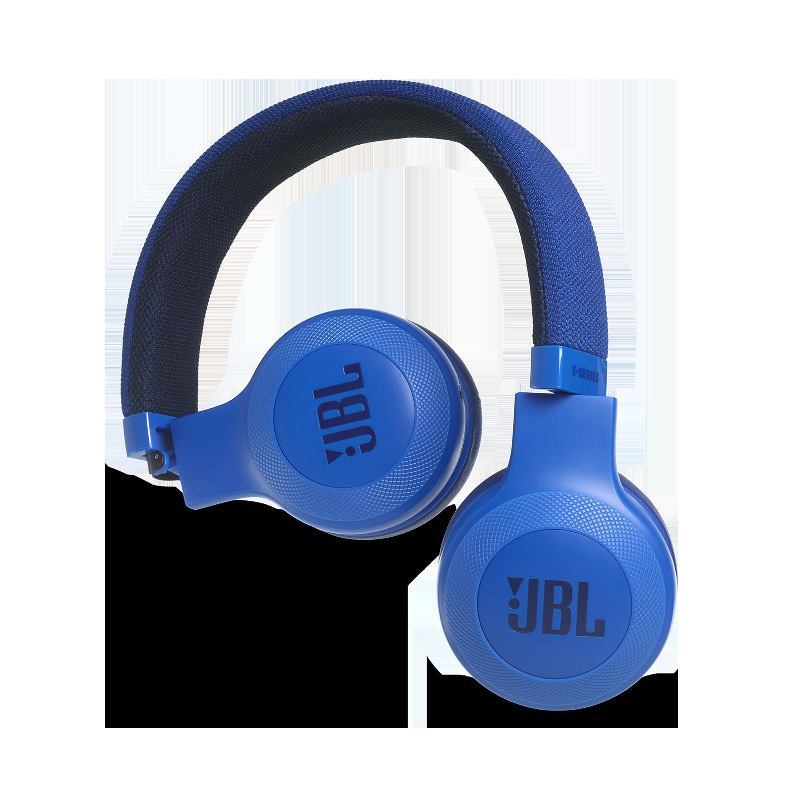 E35 - Blue - On-ear headphones - Detailshot 1