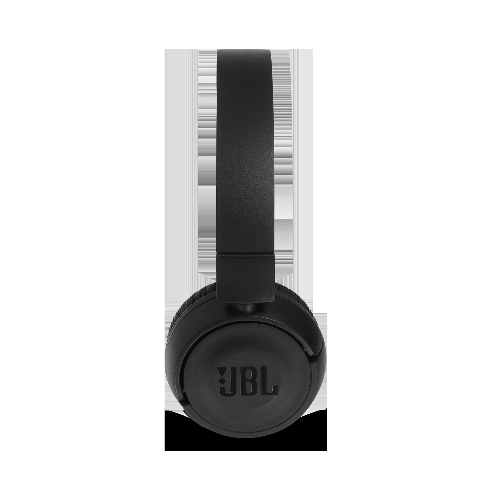 JBL T460BT - Black - Wireless on-ear headphones - Detailshot 3