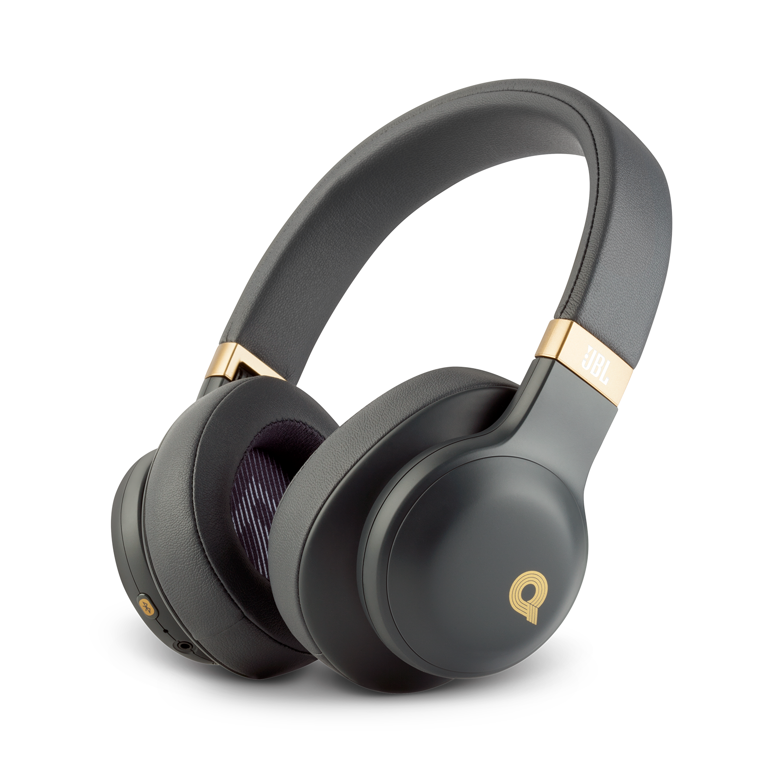 JBL E55BT Quincy Edition - Space Gray - Wireless over-ear headphones with Quincy's signature sound. - Hero