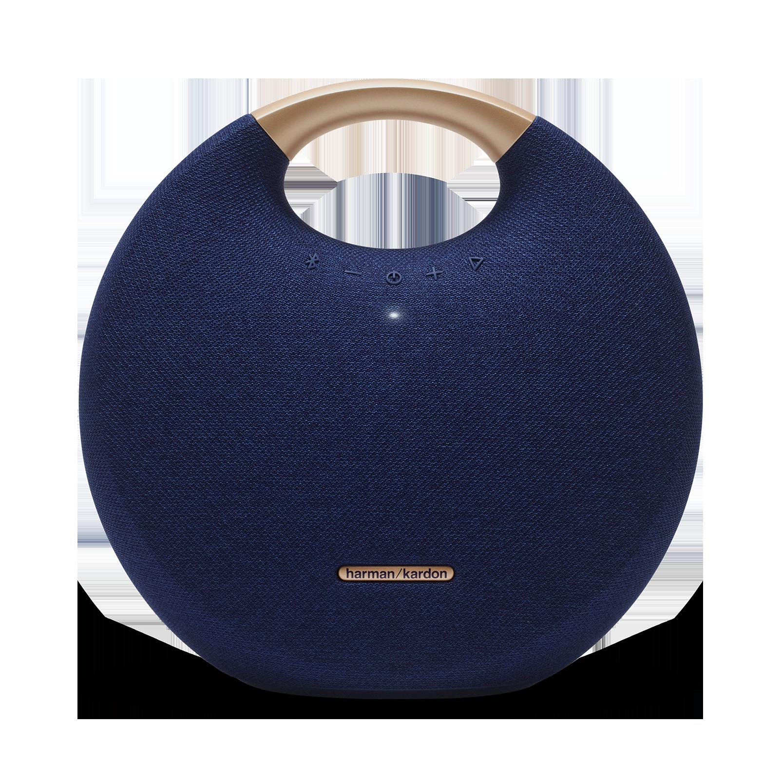 Onyx Studio 5 - Blue - Portable Bluetooth Speaker - Front